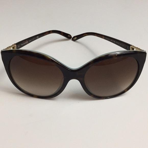 9b9805800c761 Accessories - Tiffany   Co. Sunglasses Havana Brown with Hearts